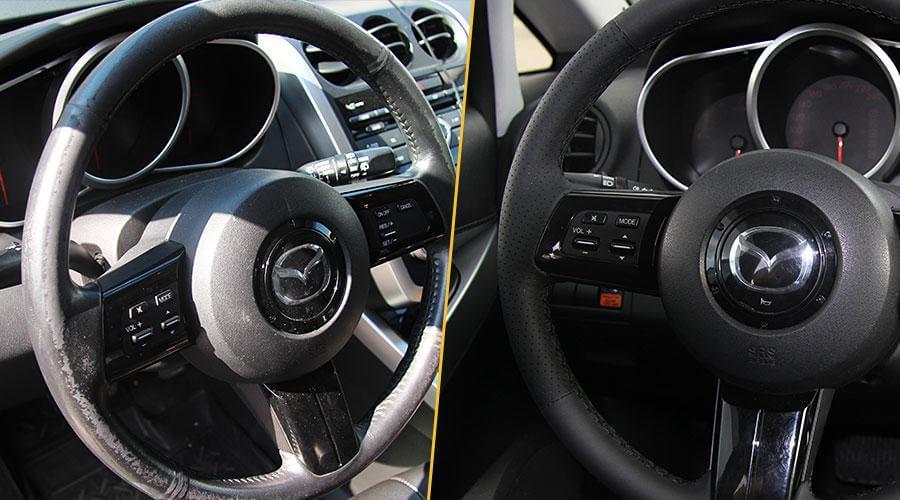 Перетяжка обода руля Mazda CX-7