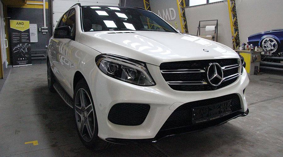 Премиальное керамическое покрытие Opti-Coat Pro Mercedes