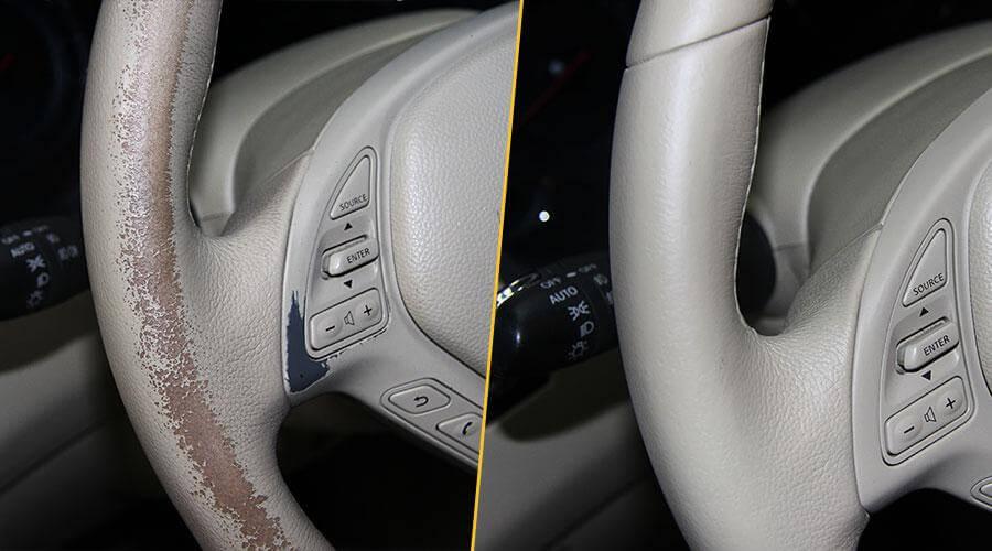 Как восстановить обшивку двери автомобиля