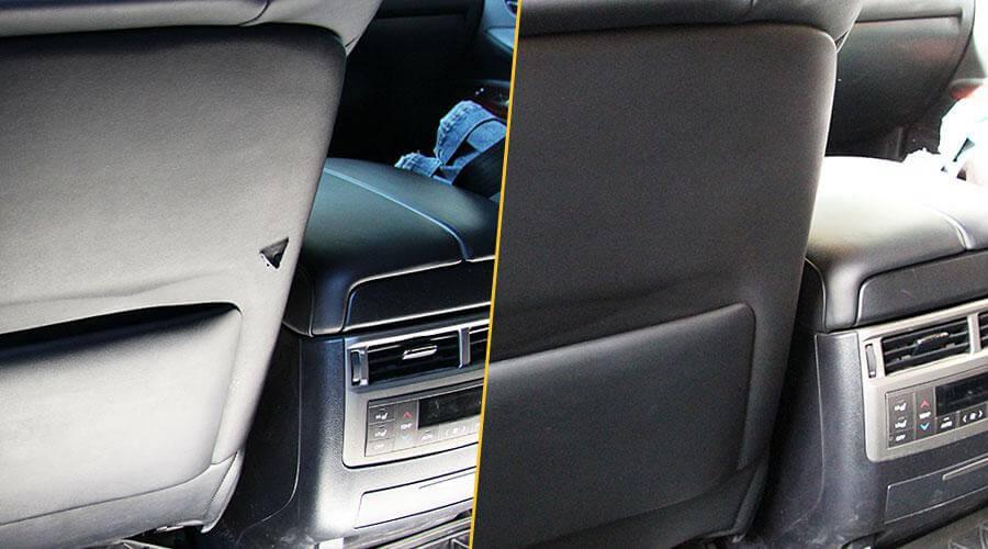 Ремонт обивки водительского кресла Lexus LX 570