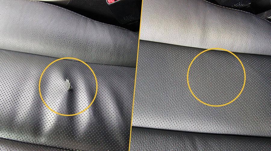 Замена поврежденного элемента сиденья Subaru Outback