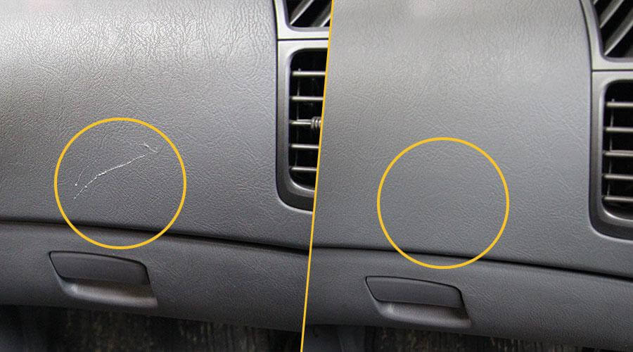 Ремонт пластиковой обшивки Hyundai Accent