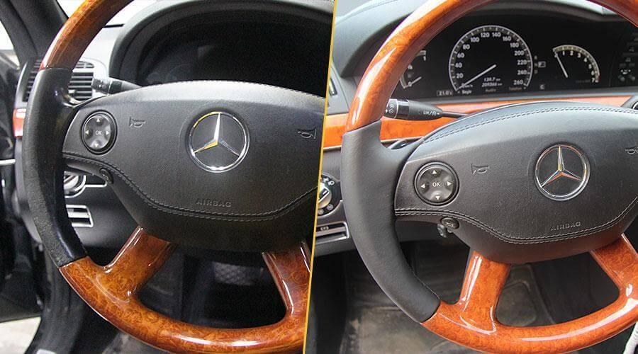 Перешивка руля Mercedes-Benz S-500