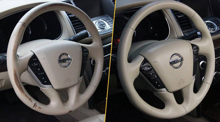 Покраска руля Nissan Teana