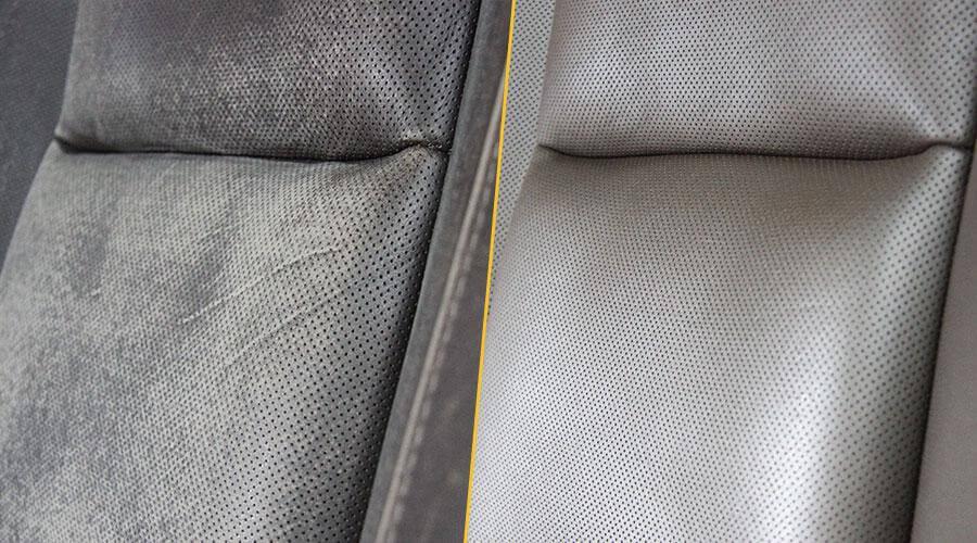 Покраска водительского сиденья
