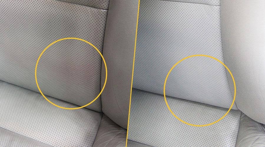 Покраска кресла Acura MDX