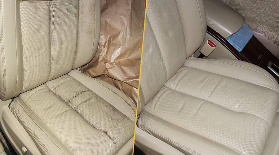 Покраска сиденья Nissan Teana