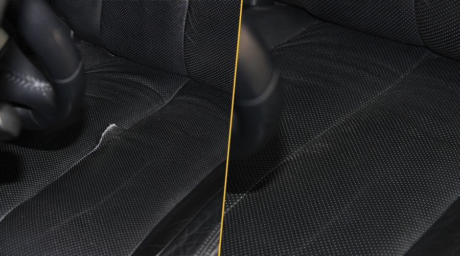 Ремонт обивки сиденья Nissan Teana