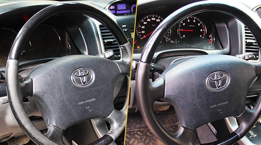 Покраска руля Toyota Prado 120