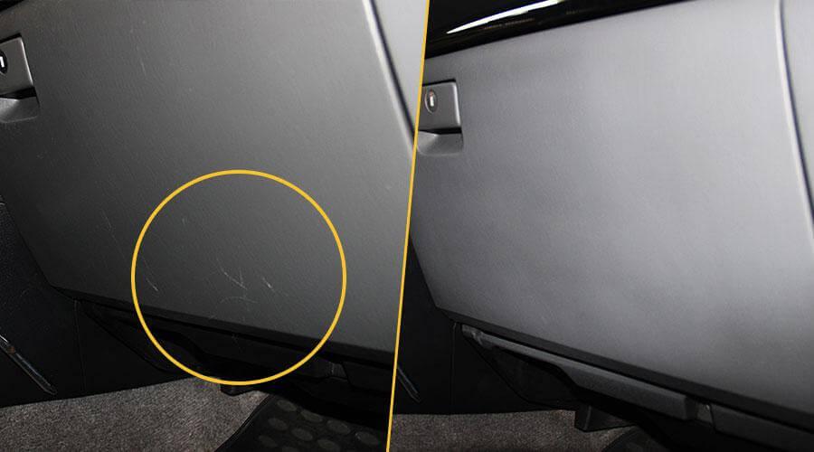Ремонт царапин на пластике Toyota Prado 120