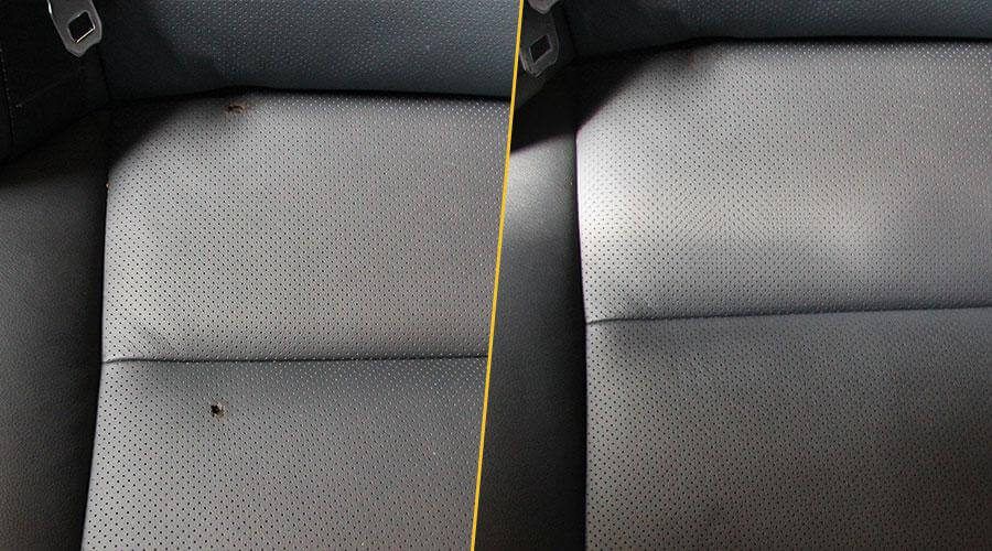 Удаление прожога Toyota Camry