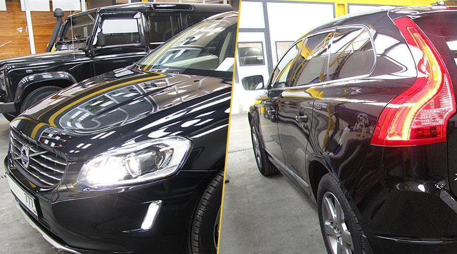 Защитное покрытие Optimum Gloss Coat Volvo XC60