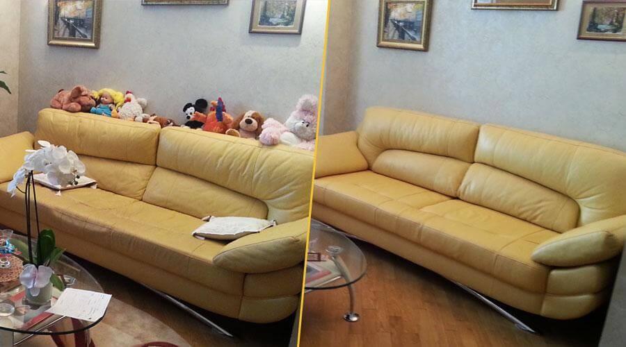 Перетяжка сидений кресла и дивана