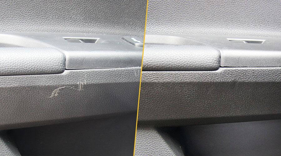 Удаление царапин на пластике Honda