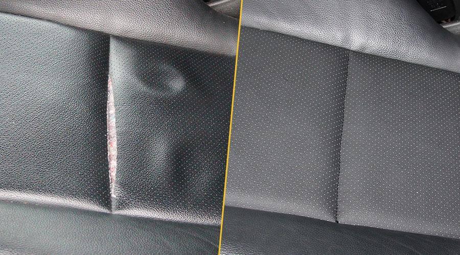 Локальная замена элемента сиденья Mercedes GLK 220