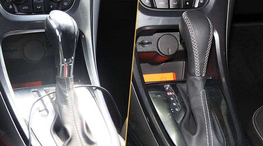 Перетяжка ручки АКПП Opel Astra
