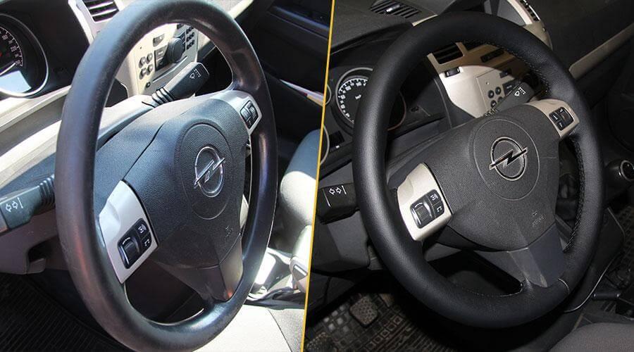Перетяжка рулевого колеса Opel Zafira
