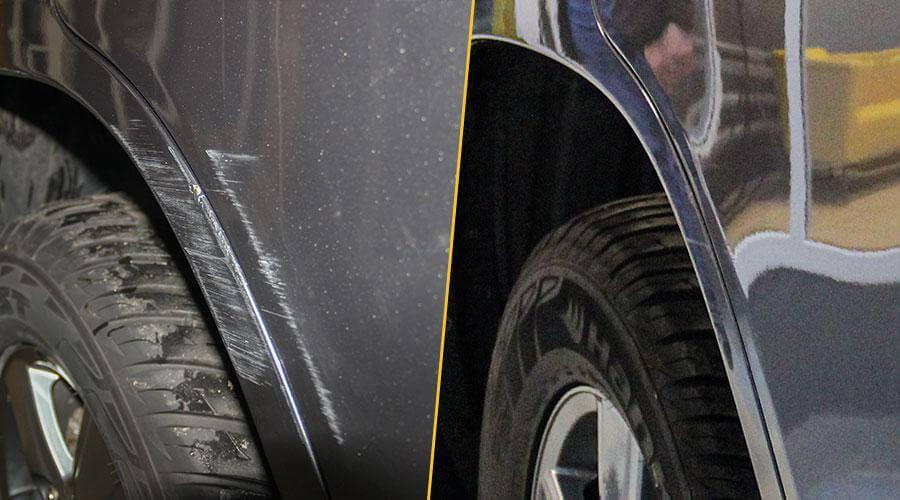 Восстановительная полировка Toyota LK 200