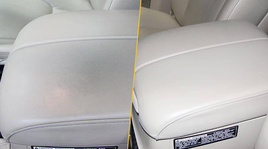 Покраска центрального подлокотника Lexus LX-570