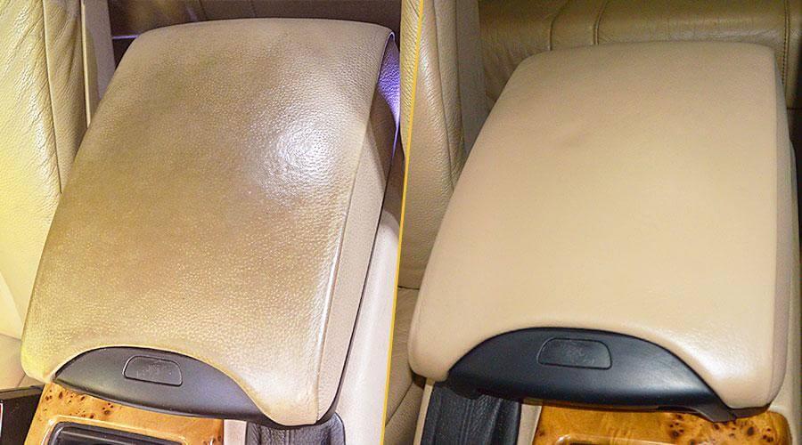 Покраска подлокотника BMW X5