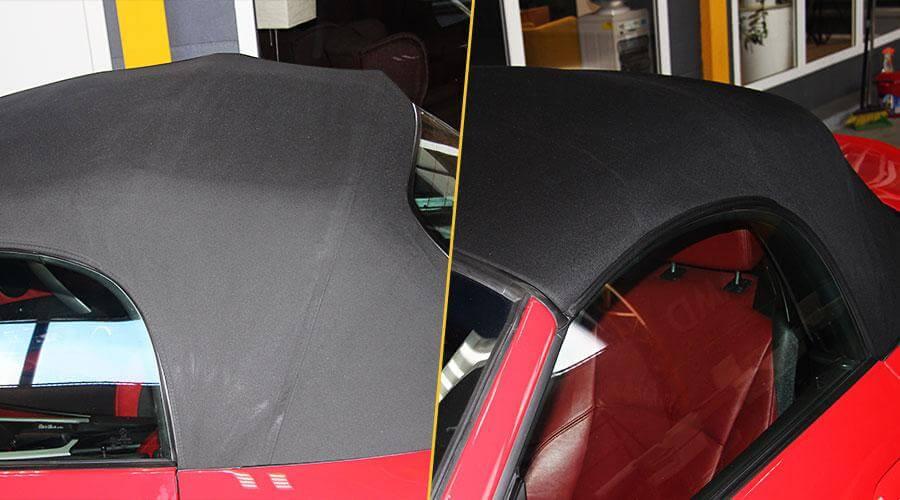 Покраска крыши кабриолета BMW Z4