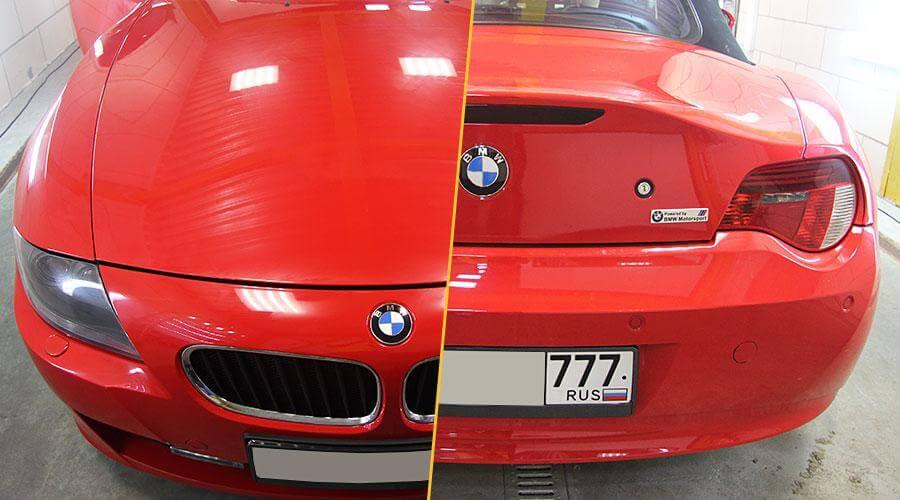 Восстановительная полировка BMW Z4
