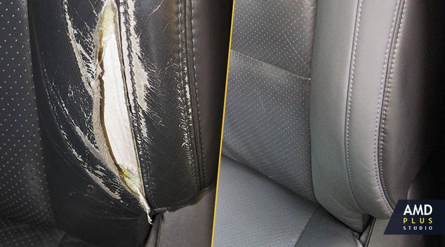 Ремонт водительского сиденья Toyota Land Cruiser Prado 120