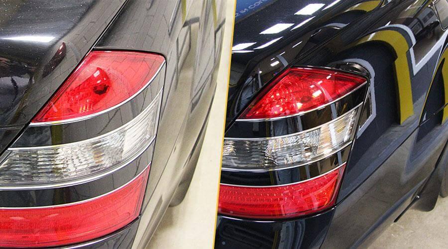Полировка кузова автомобиля Mercedes-Benz S-500