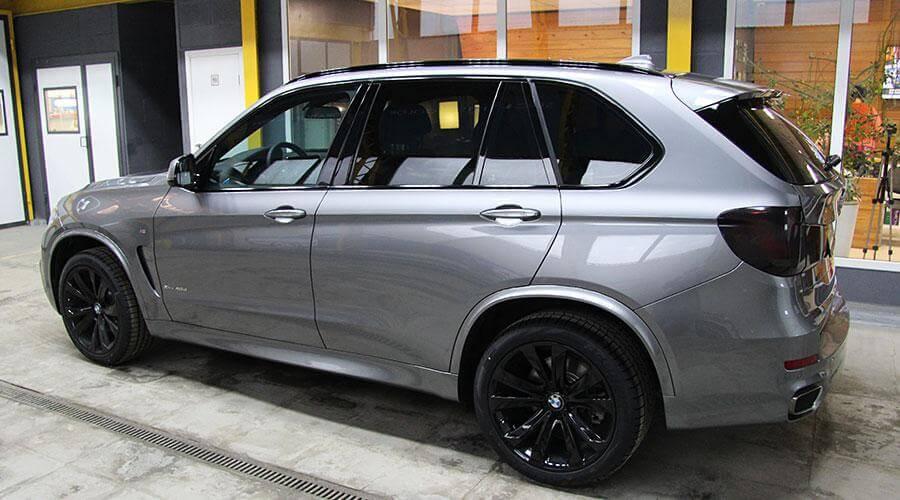 Восстановительная полировка BMW X5