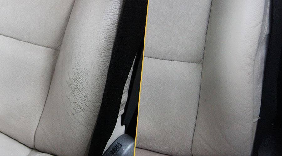 Локальная покраска сиденья BMW X6