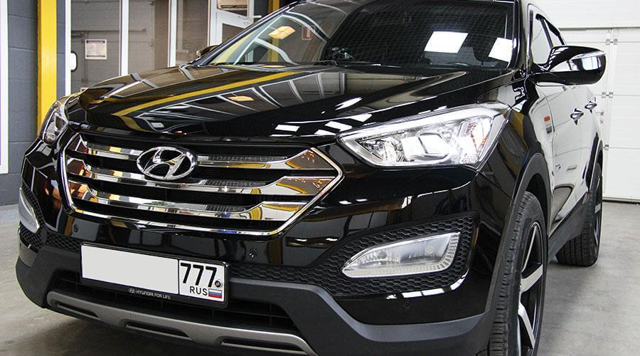 Керамическое покрытие Opti-Coat Pro Hyundai Santa Fe