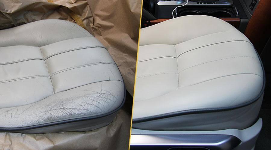 Покраска сиденья Range Rover