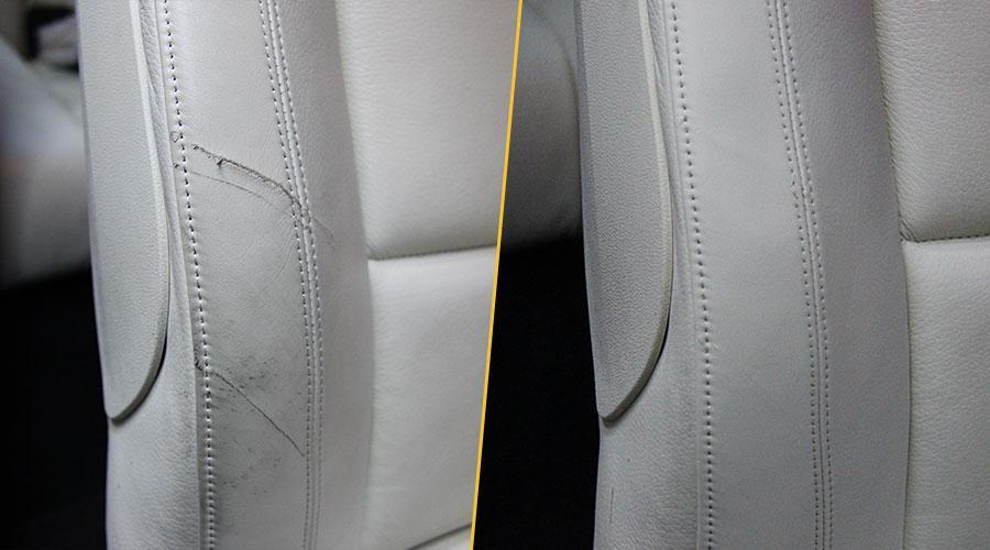 Реставрация пассажирского сиденья BMW