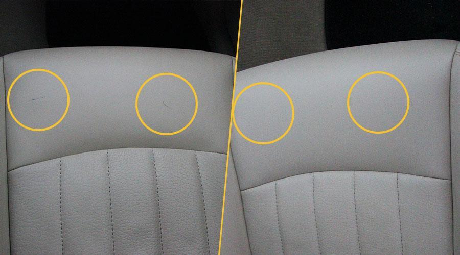 Покраска подушки сиденья Infiniti
