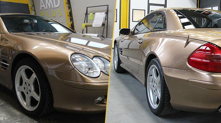 Защитное покрытие Opti-Coat Pro Mercedes-Benz SL 500