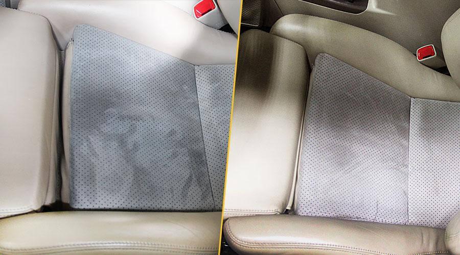 Комплексная химчистка со снятием сидений Subaru Outback