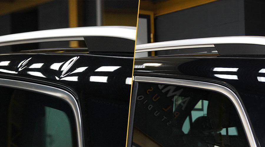 Устранение вмятины без покраски Volkswagen Touareg