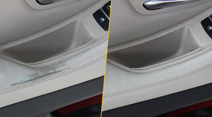 Покраска подлокотника BMW