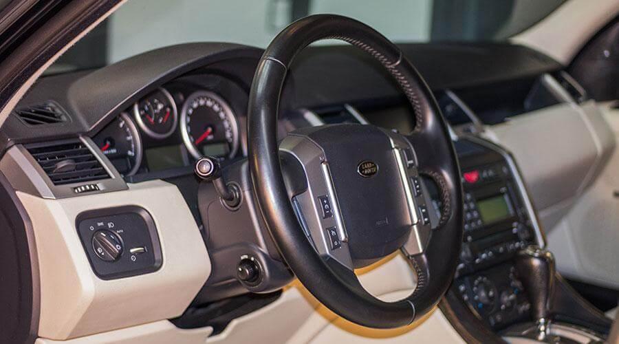 Дезодорирование салона Range Rover