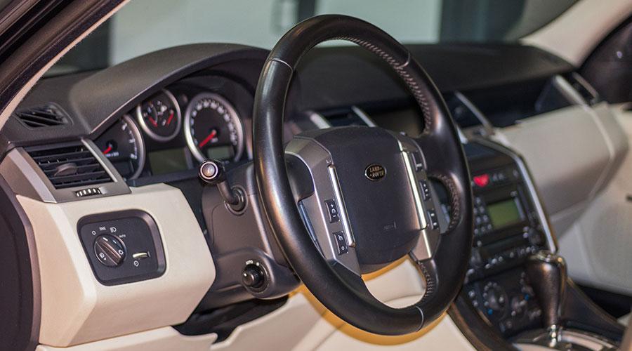 Антибактериальная обработка салона  Range Rover