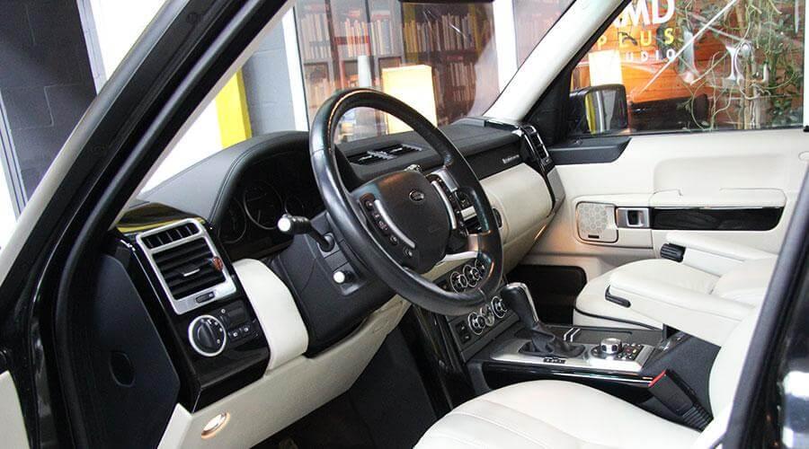 Комплексная химчистка Range Rover