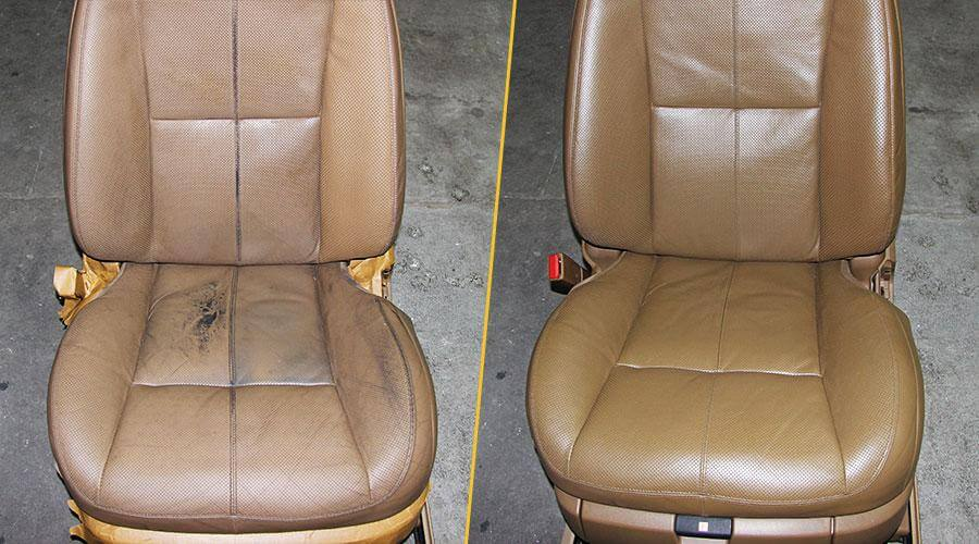 Реставрация водительского сиденья Mercedes W221