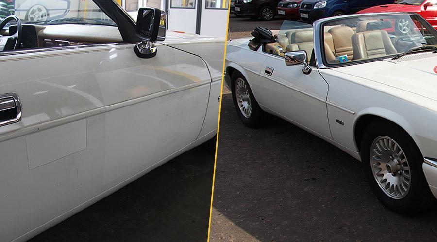 Полировка двери Jaguar XJS Convertible