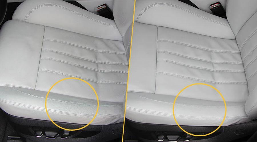 Реставрация салона методом покраски BMW M5