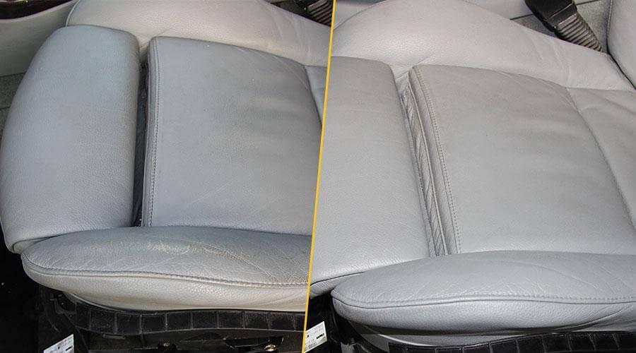 Покраска сиденья и подлокотника BMW