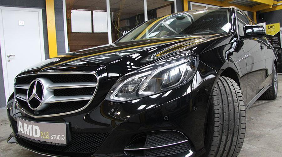 Восстановительная полировка и покрытие Opti-Coat Pro Mercedes E400