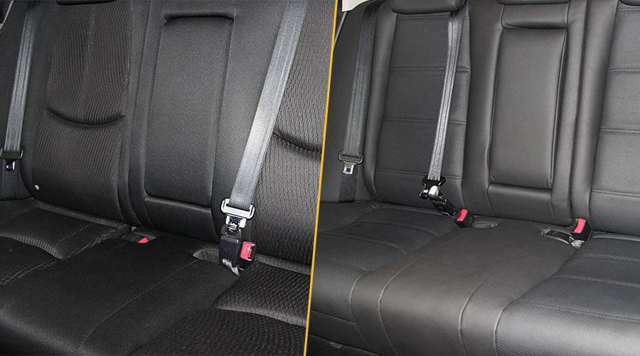 Перетяжка салона Mazda 6