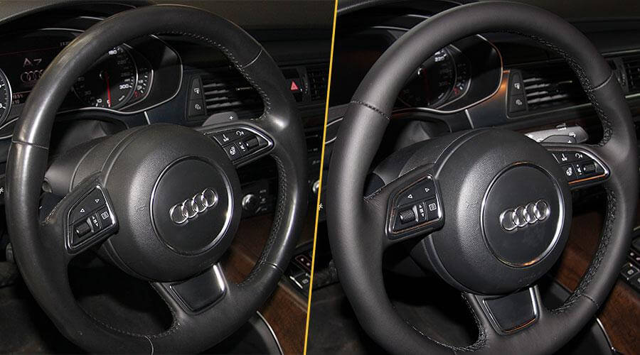 Перешивка рулевого колеса Audi A7