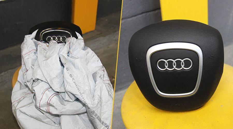Ремонт Air Bag с перезарядкой пирапатрона Audi