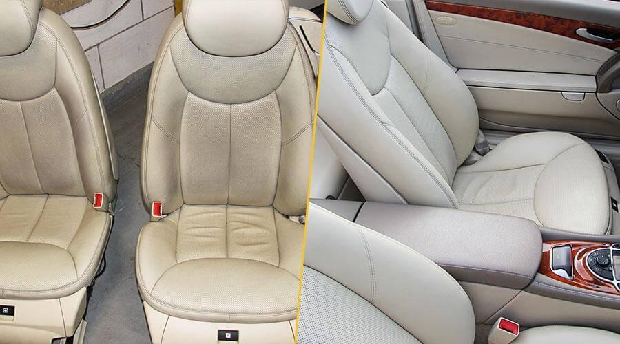 Комплексная химчистка салона Mercedes-Benz SL 500